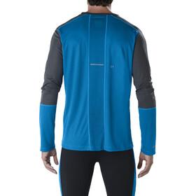 asics LS Top - T-shirt manches longues running Homme - bleu